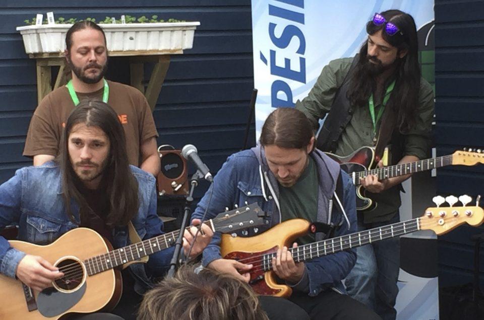 Raton Lover au Festival en chanson de Petite-Vallée